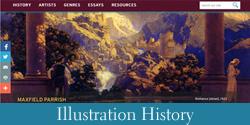 Illustration History-button