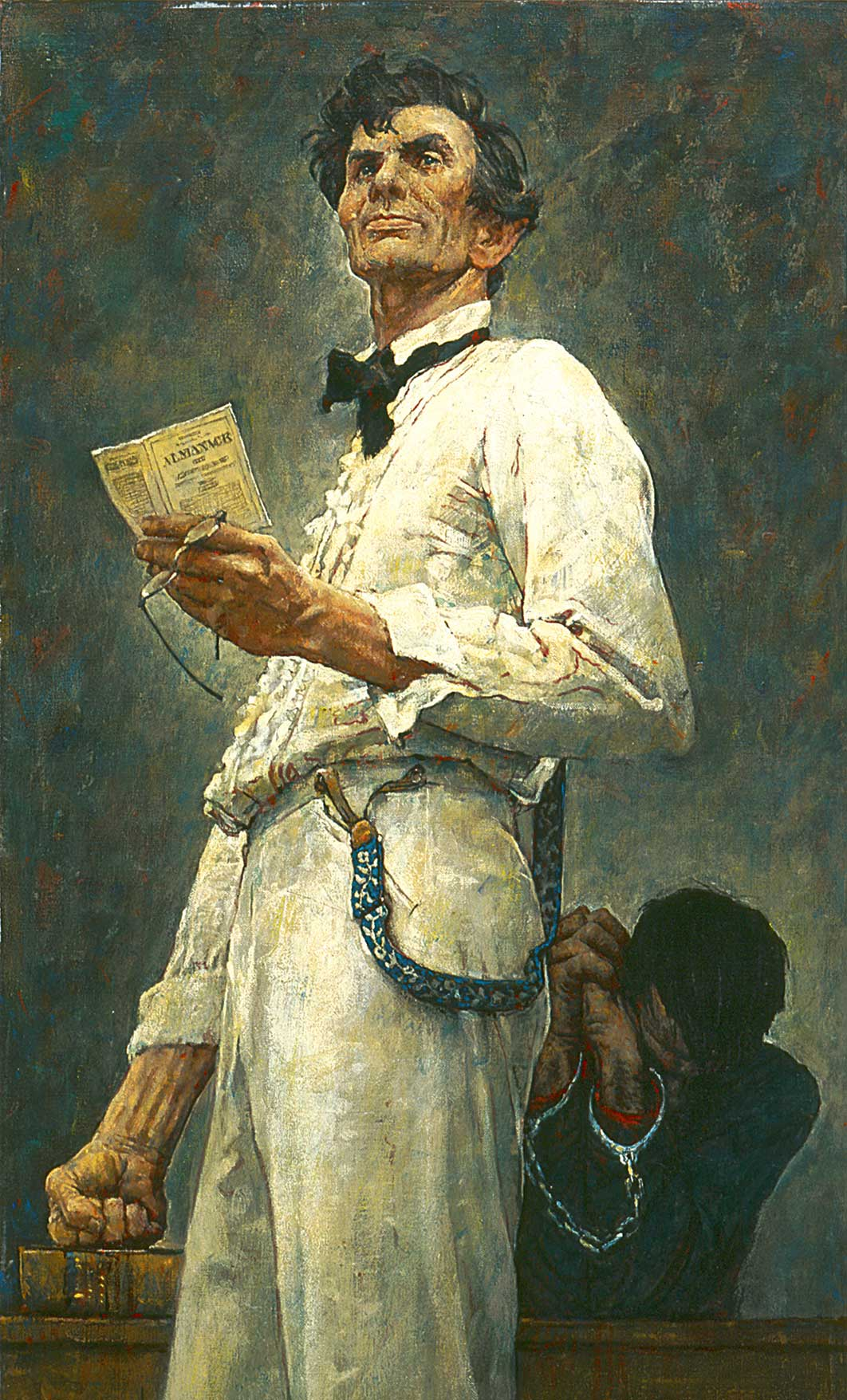 Quot Lincoln For The Defense Quot Norman Rockwell 1961 Norman