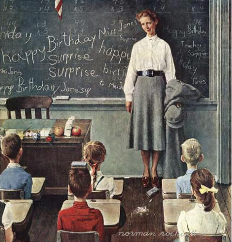 Happy Birthday Miss Jones