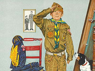boy and girl scout programs at norman rockwell museum