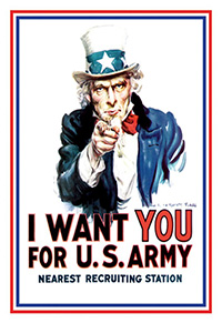 American Posters I Want You