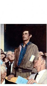 ©1943 SEPS: Licensed by Curtis Publishing, Indianapolis, IN From the permanent collection of Norman Rockwell Museum