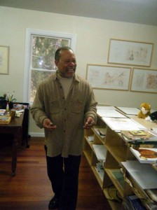 Jerry Pinkney in Studio