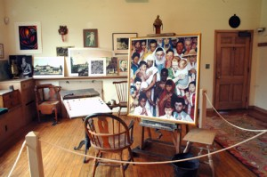 Day in the Life: Norman Rockwell's Stockbridge Studio