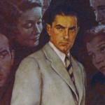 """""""The Razor's Edge,"""" Norman Rockwell, 1946"""
