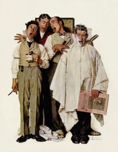 """Saturday Evening Post,"" September 26, 1936. Artwork by Norman Rockwell. ©1936 SEPS: Licensed by Curtis Publishing, Indianapolis, IN."