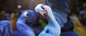 "Rio and Jewel from Blue Sky Studios' ""Rio,"" 2011."