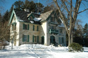 Linwood House (exterior). Photo ©Norman Rockwell Museum. All rights reserved.