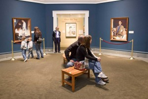 Four Freedoms gallery, Norman Rockwell Museum. ©Norman Rockwell Museum. All rights reserved.