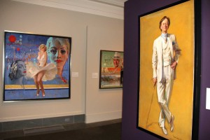 """Everett Raymond Kinstler: Pulps to Portraits"" exhibition at Norman Rockwell Museum. Photo by Norman Rockwell Museum. All rights reserved."