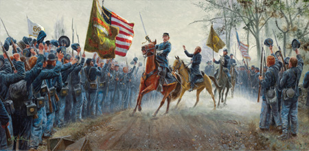 "Mort Künstler, ""Absolution Before Victory,"" 2012."