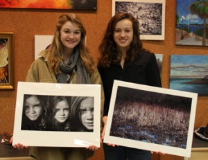 Berkshire County High School Art Show students