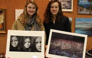 Berkshire County High School Art Show students