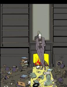 "Istvan Banyai, ""Kindle,"" 2009. ""The Atlantic Fiction"" magazine cover, 2009. ©Istvan Banyai. All rights reserved."