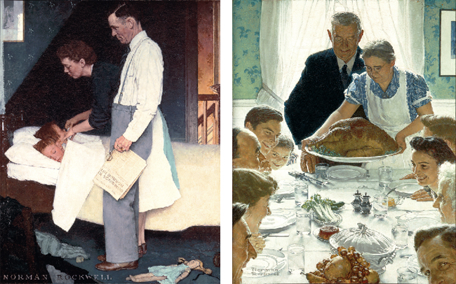 Collections: Four Freedoms - Norman Rockwell Museum - The Home for ...