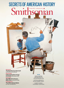 Cover for Smithsonian, October 2013