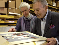 Famous Artists School Magdalen and Robert Livesey in Archive