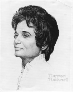 "Norman Rockwell (1894-1978), ""Portrait of Jane Fitzpatrick,"" 1972."