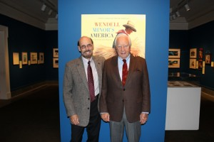"Wendell Minor and David McCullough at ""Wendell Minor's America"""