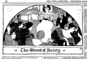 Sloan, Advent of Society