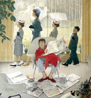 "Norman Rockwell (1894-1978), ""Easter Morning,"" 1959"