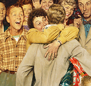 Christmas Homecoming.Christmas Homecoming Sm Norman Rockwell Museum The Home