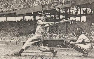 "Murray Tinkelman, ""New York Yankee Joe DiMaggio."""