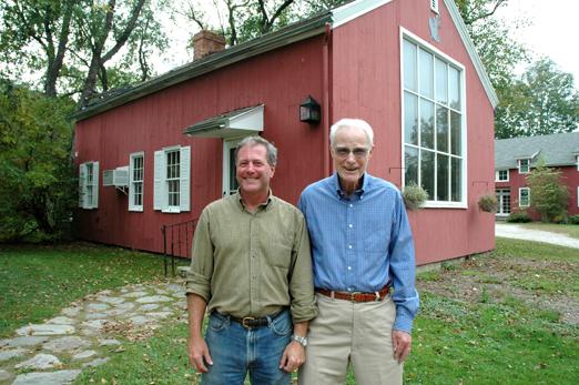 Jim and Buddy Edgerton, Arlington, Vermont, 2009