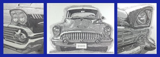 utomobile art by Murray Tinkelman
