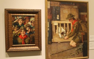 Boy Scout paintings on view at Norman Rockwell Museum