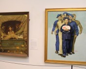 Willie Gillis paintings on display at NRM