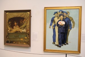 Willie Gillis paintings on display at NRM