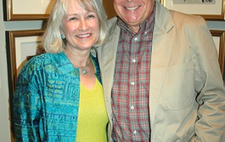 Lee and Cindy Williams, Norman Rockwell Museum, 2006