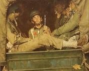 "Norman Rockwell (1894-1978), ""Willie Gillis in Convoy,"" c. 1943"