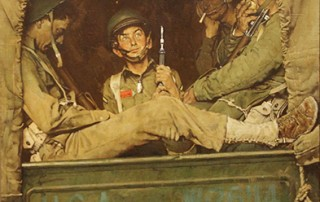 "Norman Rockwell (1894-1978), ""Willie Gillis in Convoy,"" c. 1943"