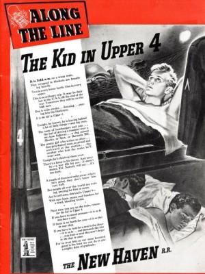 New Haven Railroad ad, 1943