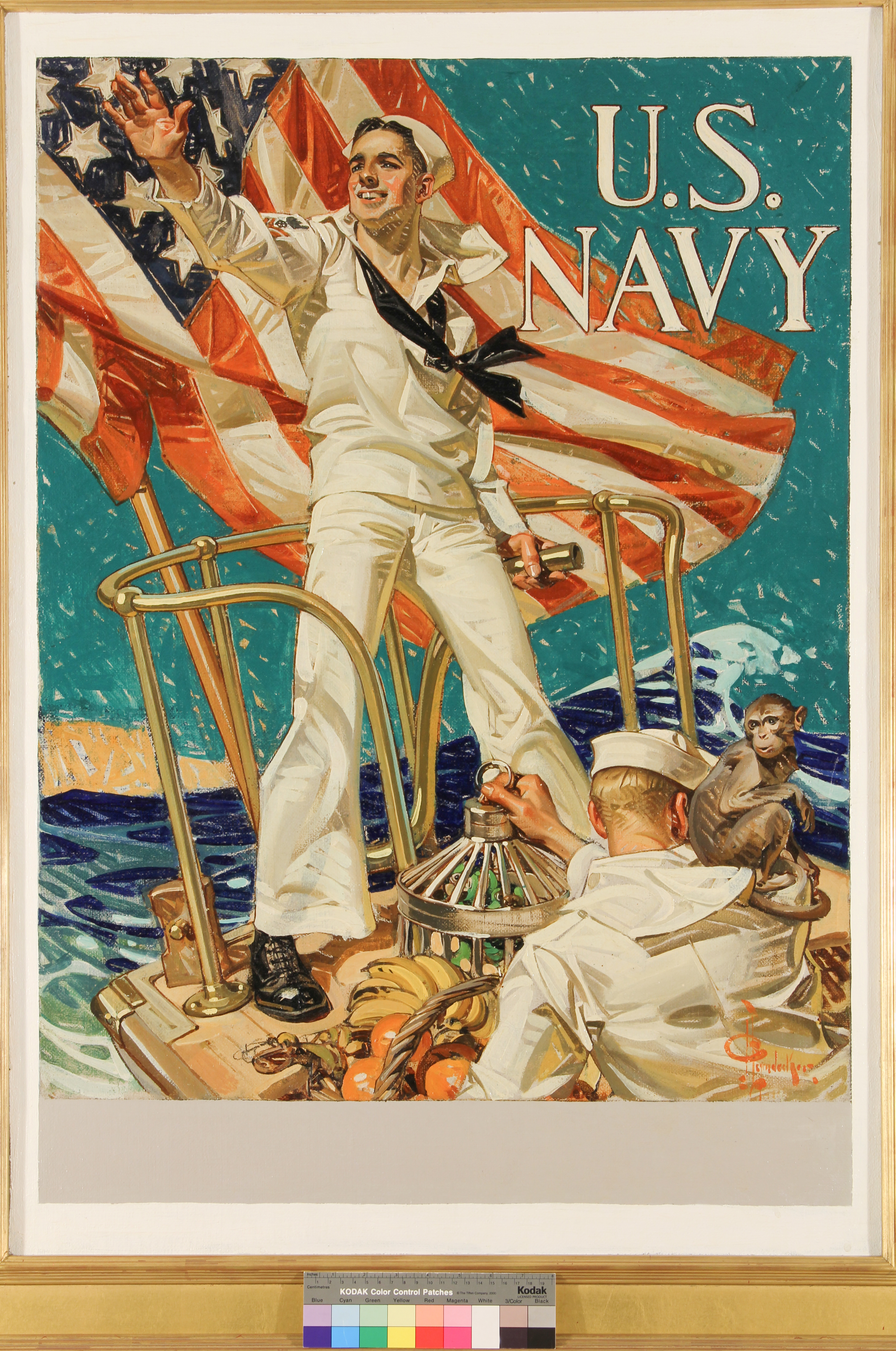 Hailing You For The U.S. Navy