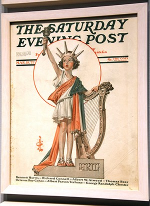 "J.C. Leyendecker (1874-1951), ""Irish Liberty,"" 1922"