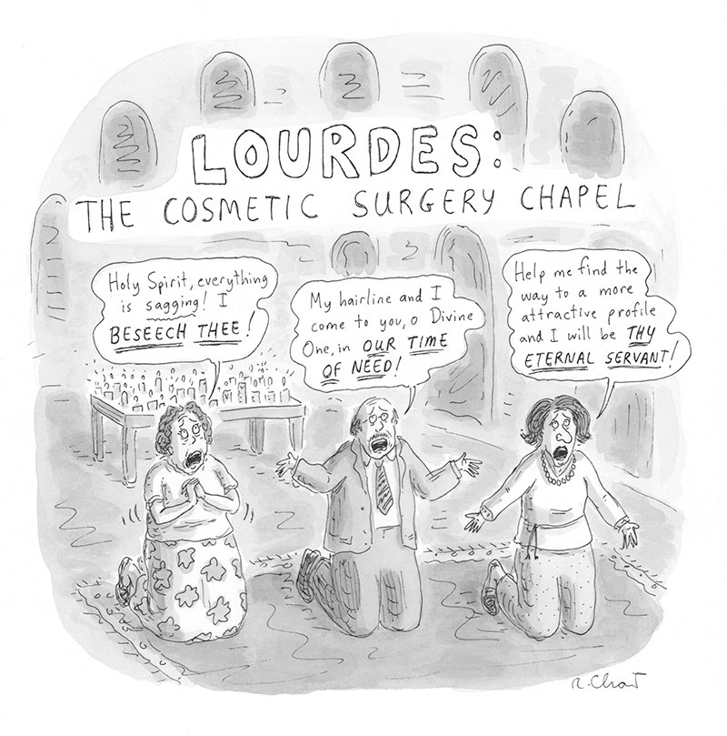 Lourdes: The Cosmetic Surgery Chapel
