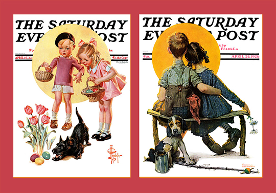 Saturday Evening Post covers, NRM