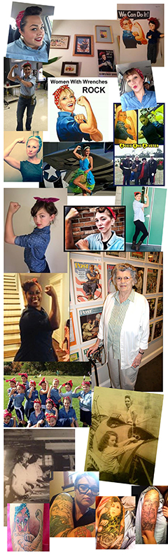 Rosie the Riveter memorial collage_web