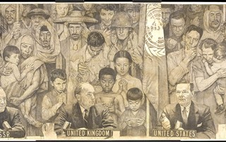 """Norman Rockwell (1894-1978), """"United Nations,"""" 1953"""
