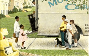 "Norman Rockwell (1894-1978), ""New Kids in the Neighborhood,"" 1967"
