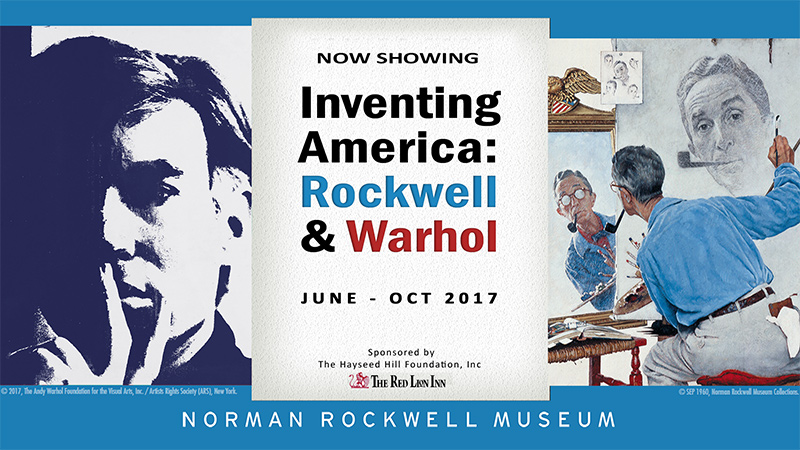 Inventing America: Rockwell and Warhol