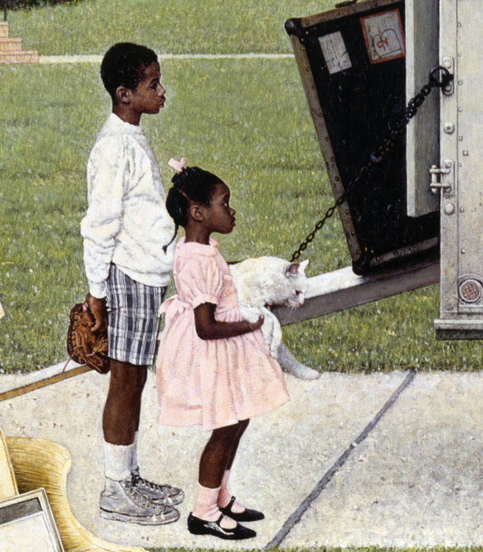 Norman Rockwell In The Age Of The Civil Rights Movement