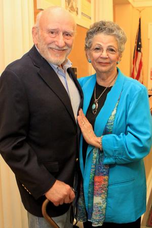 Carol and Murray Tinkelman. Photo courtesy Walt Engels.