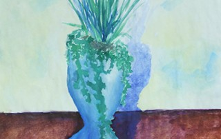 """Kyra Zapf, """"Blue Shades,"""" 2016"""