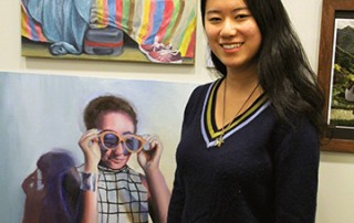 Mindy (Yuhui) Ma, Berkshire County High School Art Show, 2016