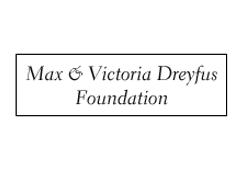 Max & Victoria Dreyfuse Foundation - Sponsorship