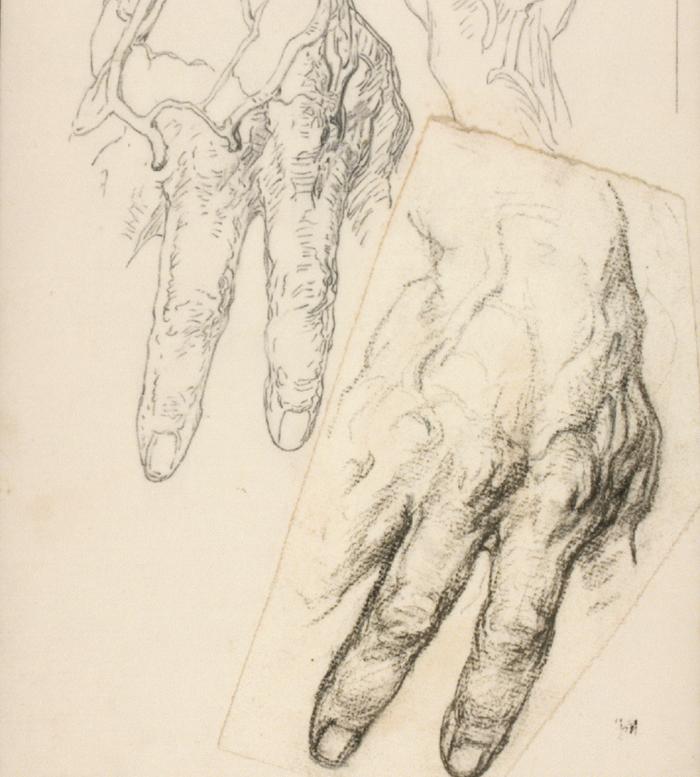Hand Study, c. 1920 - George Bridgman